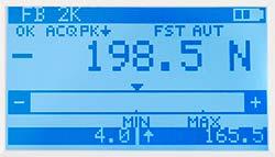 Medidor de torque de la serie PCE-FB TW con función PEAK