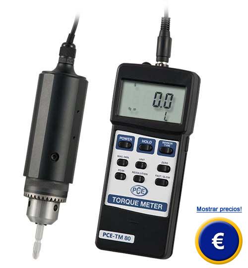 Medidor de torque digital PCE-TM 80
