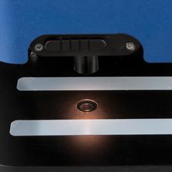 La zona de medición del medidor de transmisión luminosa PCE-TT 100