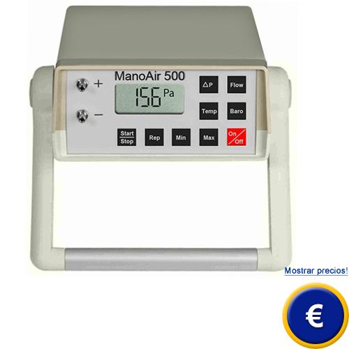 Micromanometro de presion diferencial ManoAir500