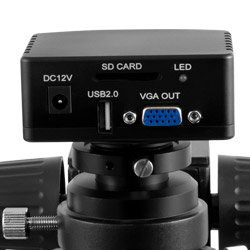 Conexiones del microscopio digital 3D PCE-IDM 3D