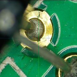 Imagen captada con el microscopio Full HD