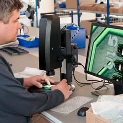 El microscopio Full HD en una aplicación práctica