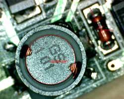 Diámetro y área de una circunferencia capturada con el software del microscopio