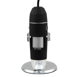 Regulador de aumentos del microscopio USB