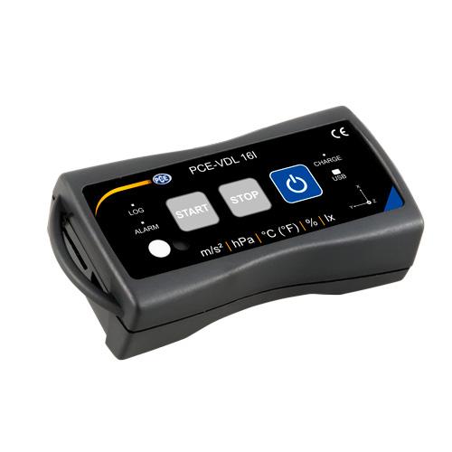 Más información acerca del mini registrador de datos PCE-VDL 16I