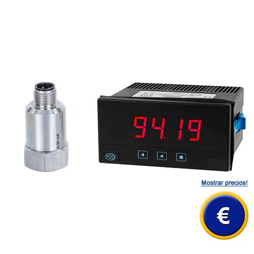 Más información acerca del monitor para medida de vibraciones PCE-VMS 100