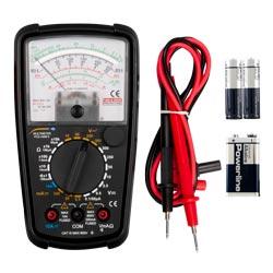 Contenido de envío del multímetro analógico PCE-AMM 5