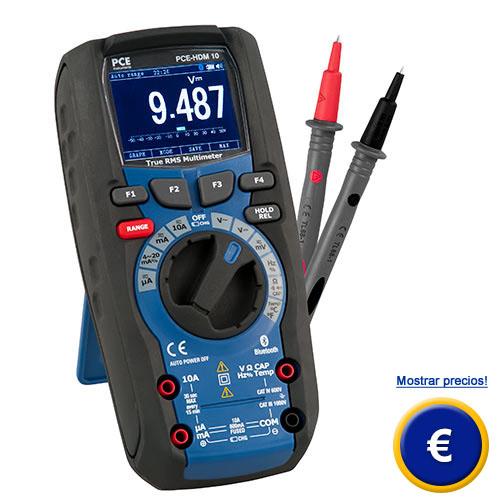 Multímetro digital PCE-HDM 10