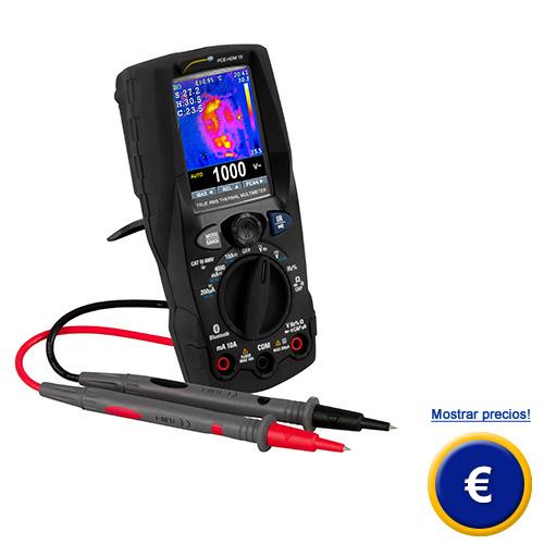 Más acerca del multímetro digital PCE-HDM 15