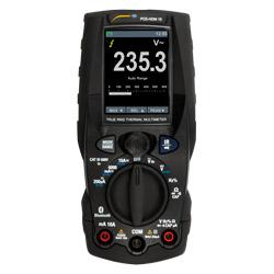 Vista total del multímetro digital PCE-HDM 15