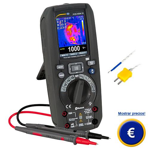 Más información sobre el multímetro digital PCE-HDM 20