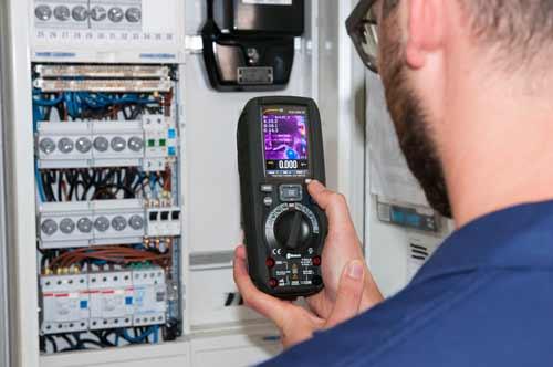 Cámara térmica del multímetro digital PCE-HDM 20