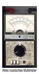 En los multímetros analógicos se muestra el valor de la medición con un indicador en diferentes escalas.