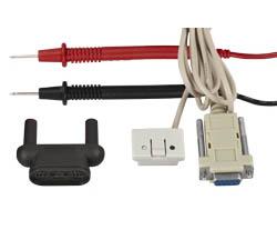 Como enviamos el multimetro TRMS PCE-UT 61E con todos los accesorios necesarios, puede empezar a trabajar inmediatamente.