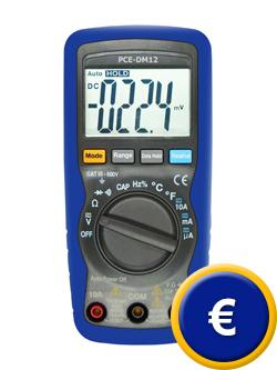 Ohmetro (CAT III / 600 V) con un diseño seguro y de sencillomanejo.