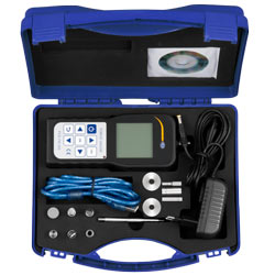 Presentación del penetrómetro de la serie PCE-PTR 200N en su maletín.