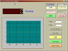 Software para el penetrómetro de la serie PCE-PTR 200.