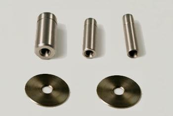 Puntales para utilizar con el penetrómetro PCE-PTR 200.