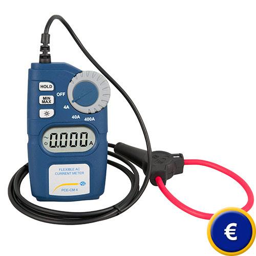 Más información acerca de la pinza amperimétrica flexible PCE-CM 4