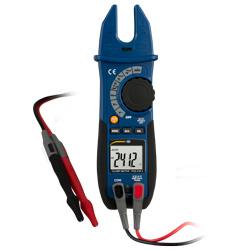 Pinzas de medición conectadas al PCE-CM 3