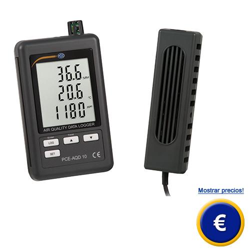 Más información sobre el registrador de CO2 PCE-AQD 10