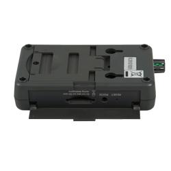 Ranura para la tarjeta de memoria SD del registrador de CO2