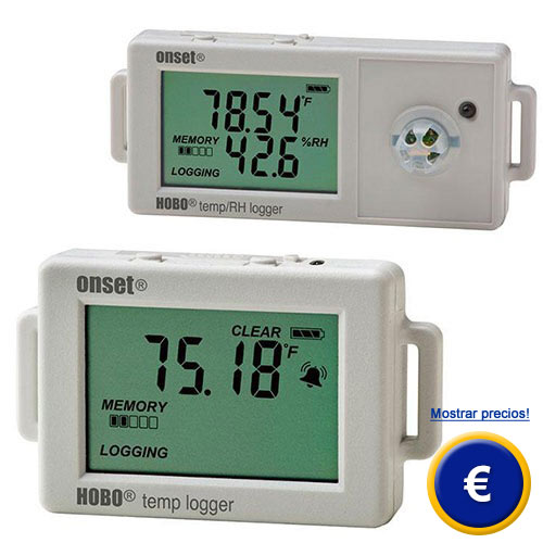 Más información acerca del registrador de datos para temperatura y humedad