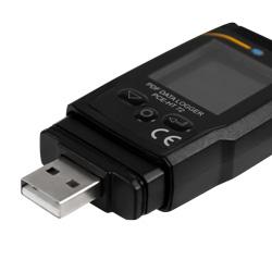 Conexión USB del registrador de temperatura y humedad pdf