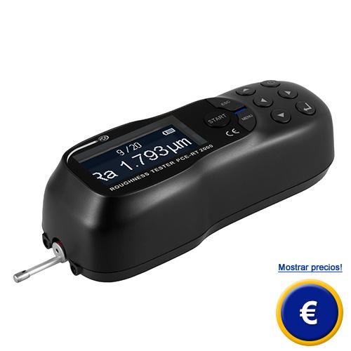 Más información acerca del rugosimetro PCE-RT 2000.