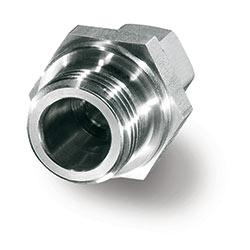 Atornilladura de paso de acero inoxidable para el sensor de caudal universal