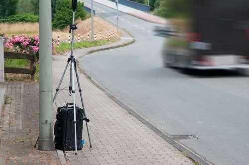 Aplicación del sonómetro para exteriores Kit PCE-4xx-EKIT