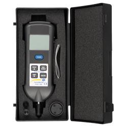 Contenido de envío del tacómetro y estroboscopio PCE-T 260