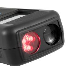 Tacómetro y estroboscopio PCE-T 260: Los LED del estroboscopio