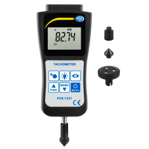 Tacómetro de mano PCE-T236 y PCE-T237