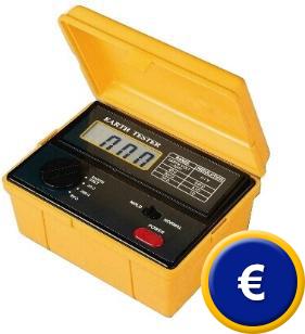 Telurometro digital PCE-ET 3000.