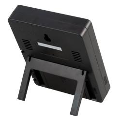 Termohigrómetro con soporte plegable