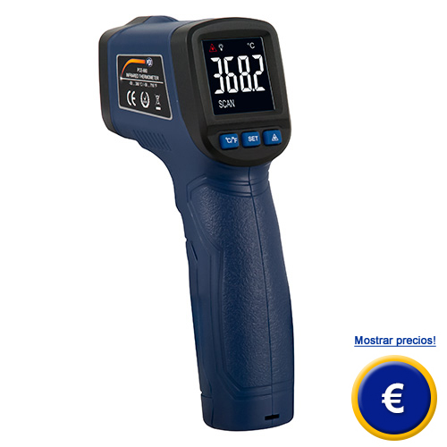 Más información acerca del termomero infrarrojo PCE-660