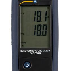 Imagen de la pantalla del termometro digital
