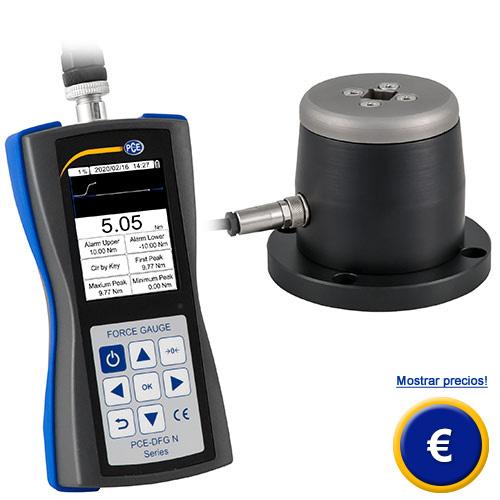 Más información acerca del torquímetro serie PCE-DFG N TW