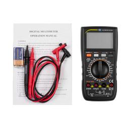 Contenido de envío del multímetro digital TRMS DMM PCE-DM 4