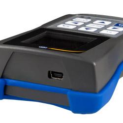Conexión USB del vibrómetro PCE-VM 20