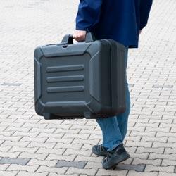 Maletín de transporte del videoscopio Wi-Fi para canalizaciones PCE-PIC 50