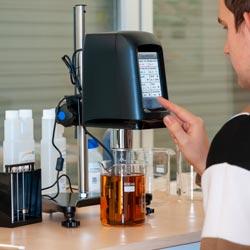 Ejemplo de uso del viscosímetro de rotación PCE-RVI 10