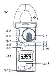 Diagrama del voltimetro CM-9930eff
