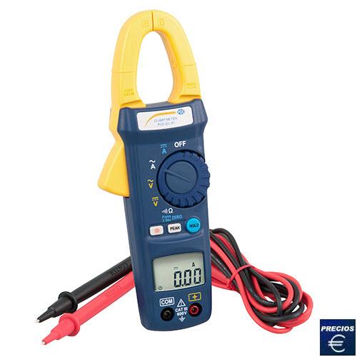 Más información sobre la pinza amperimétrica PCE-DC41
