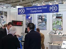PCE Instruments en ferias