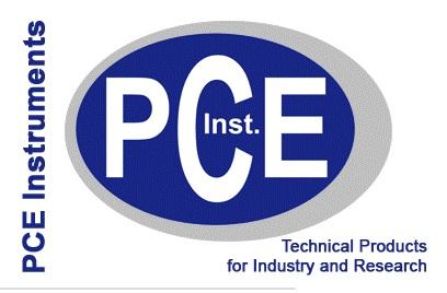 Ir a PCE Instruments