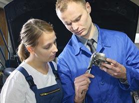 Trabajos de mantenimiento en PCE